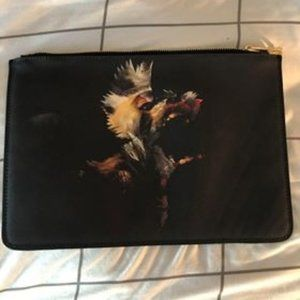 Black Coated Bear Givenchy Clutch
